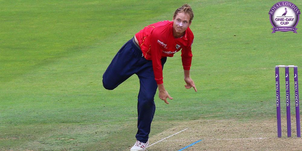 Tom Westley bowling