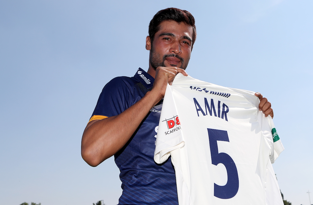 Essex Unveil New Signing Mohammad Amir