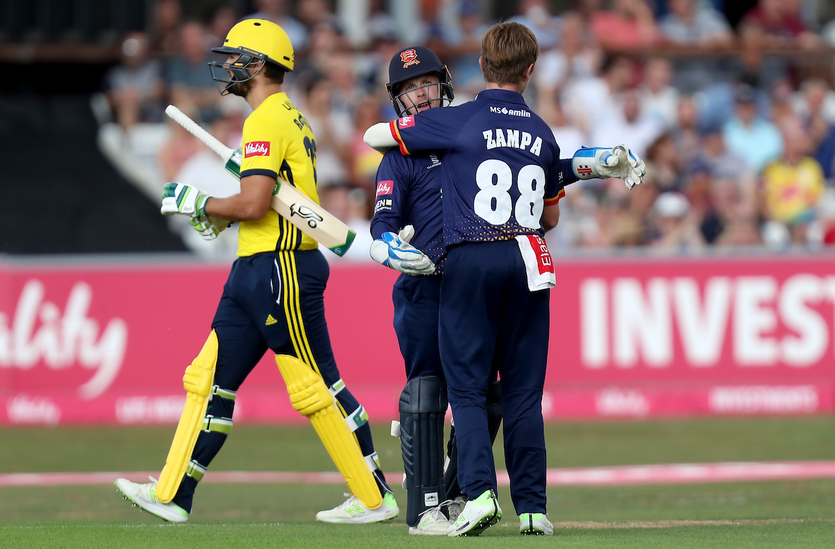 Essex Eagles v Hampshire – Vitality Blast – South Group – The Cloudfm County Ground
