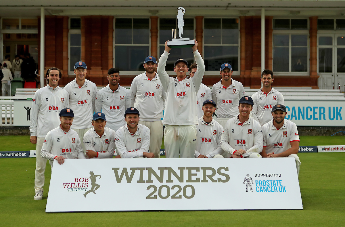 Somerset CCC vs Essex CCC, Bob Willis Trophy Final, Cricket, Lord's Cricket Ground, St John's Wood, London, United Kingdom – 27 Sep 2020
