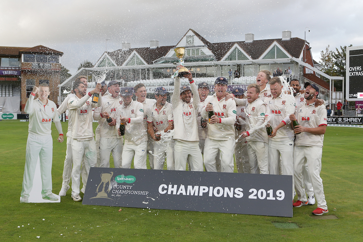 Somerset CCC vs Essex CCC, Specsavers County Championship Division 1, Cricket, The Cooper Associates County Ground, Taunton, Somerset, United Kingdom – 26 Sep 2019