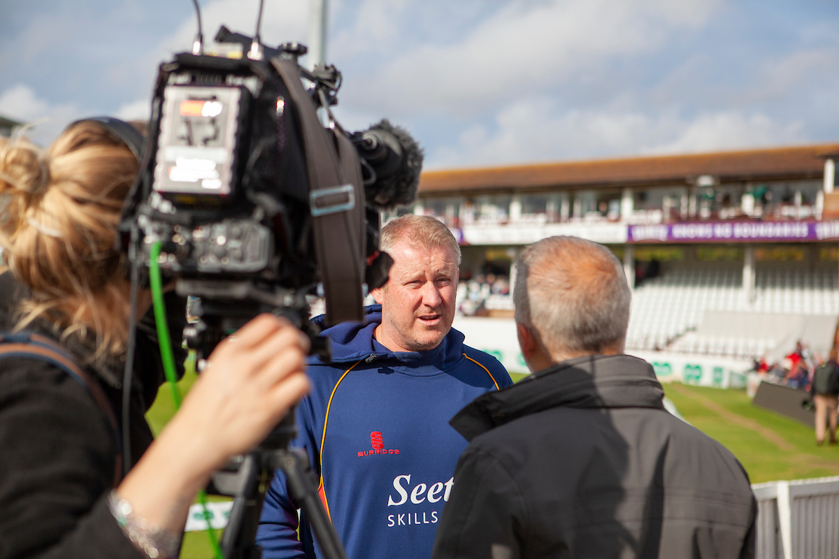 Somerset CCC vs Essex CCC, Specsavers County Championship Division 1, Cricket, The Cooper Associates County Ground, Taunton, Somerset, United Kingdom – 23 Sep 2019