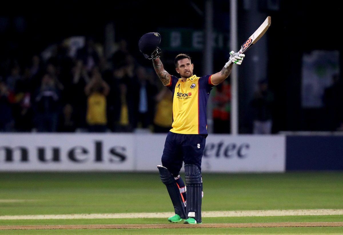 Essex Eagles vs Surrey, Vitality Blast T20, Cricket, The Cloudfm County Ground, Chelmsford, Essex, United Kingdom – 19 Jul 2019