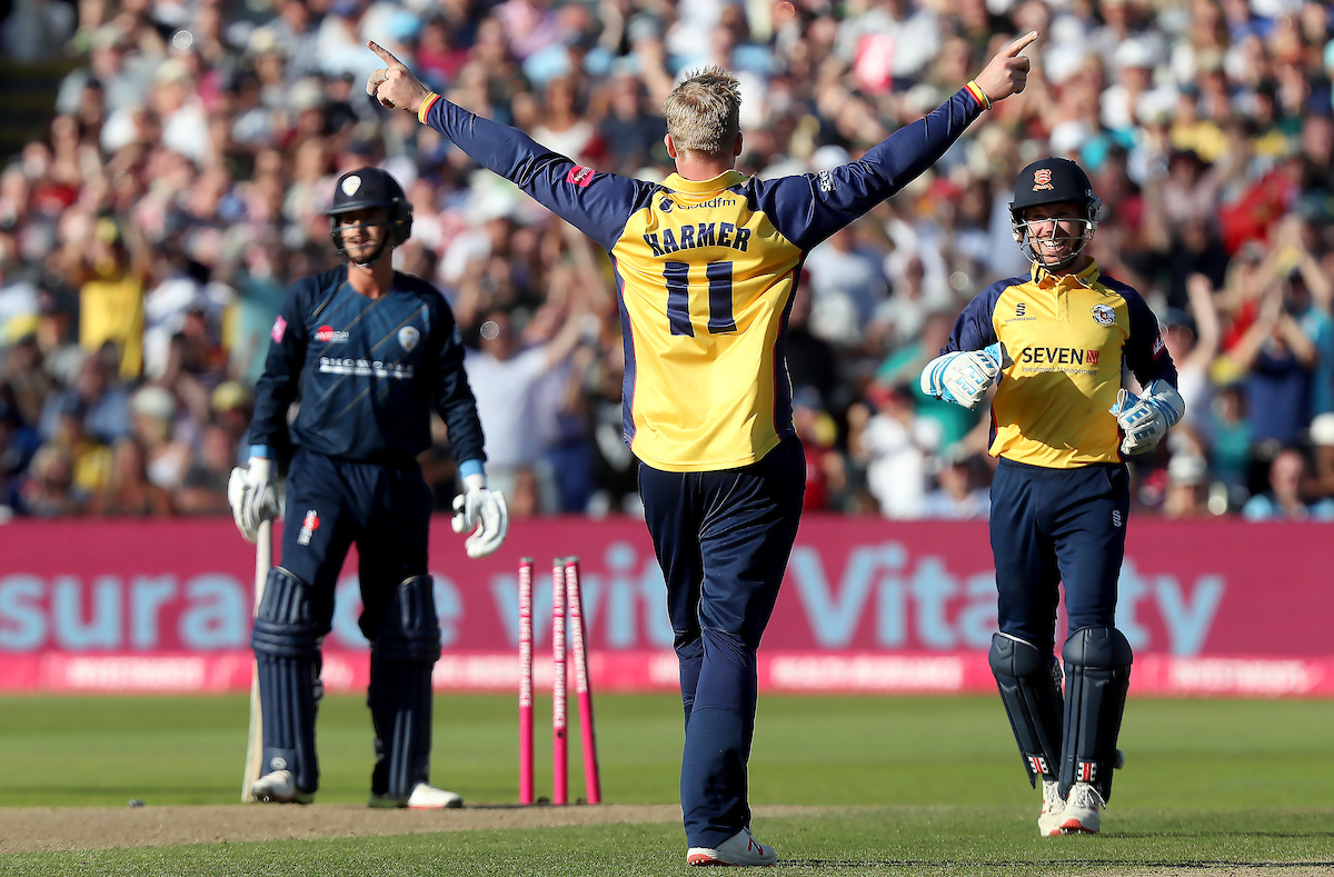 Derbyshire Falcons vs Essex Eagles, Vitality Blast T20 Finals Day, Cricket, Edgbaston Stadium, Birmingham, West Midlands, United Kingdom – 21 Sep 2019