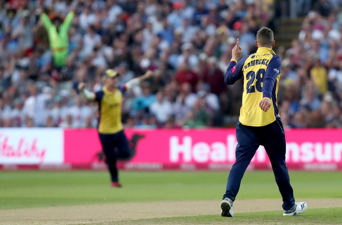 Essex Eagles vs Worcestershire Rapids, Vitality Blast T20 Finals Day, Cricket, Edgbaston Stadium, Birmingham, West Midlands, United Kingdom – 21 Sep 2019