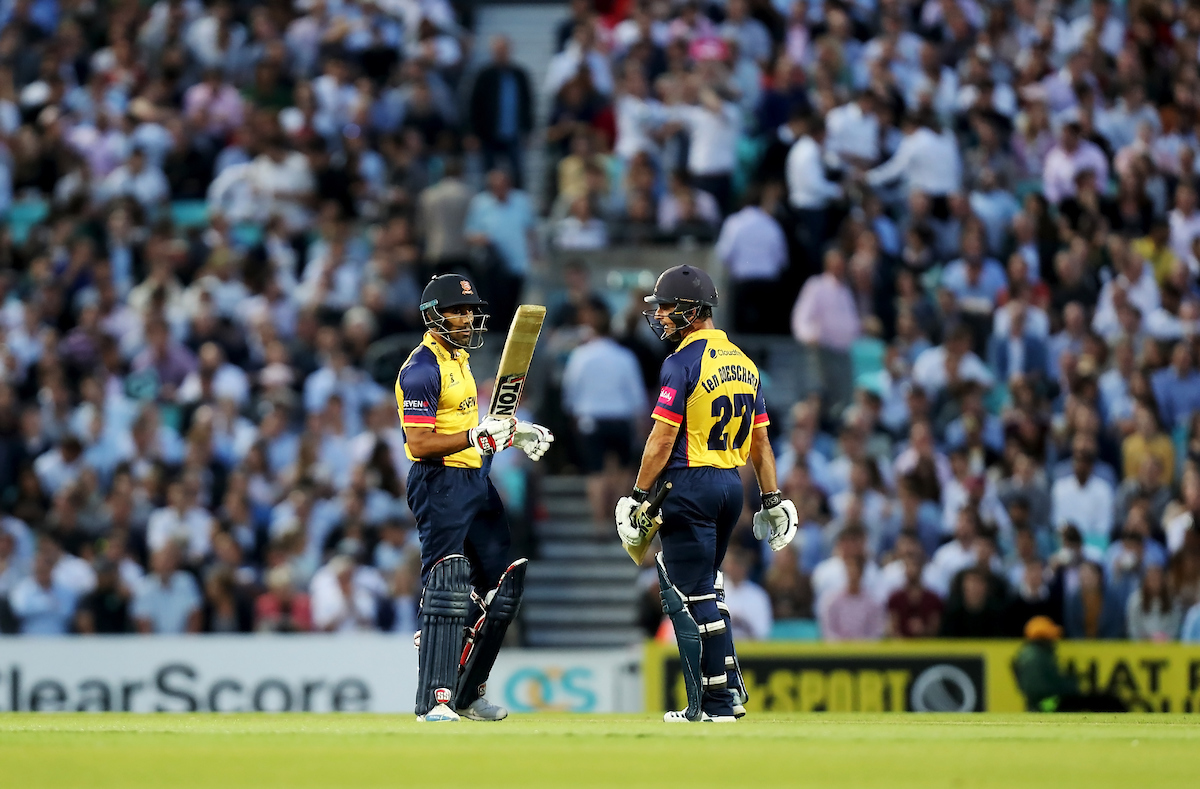 Surrey vs Essex Eagles, Vitality Blast T20, Cricket, the Kia Oval, Kennington, London, United Kingdom – 29 Aug 2019
