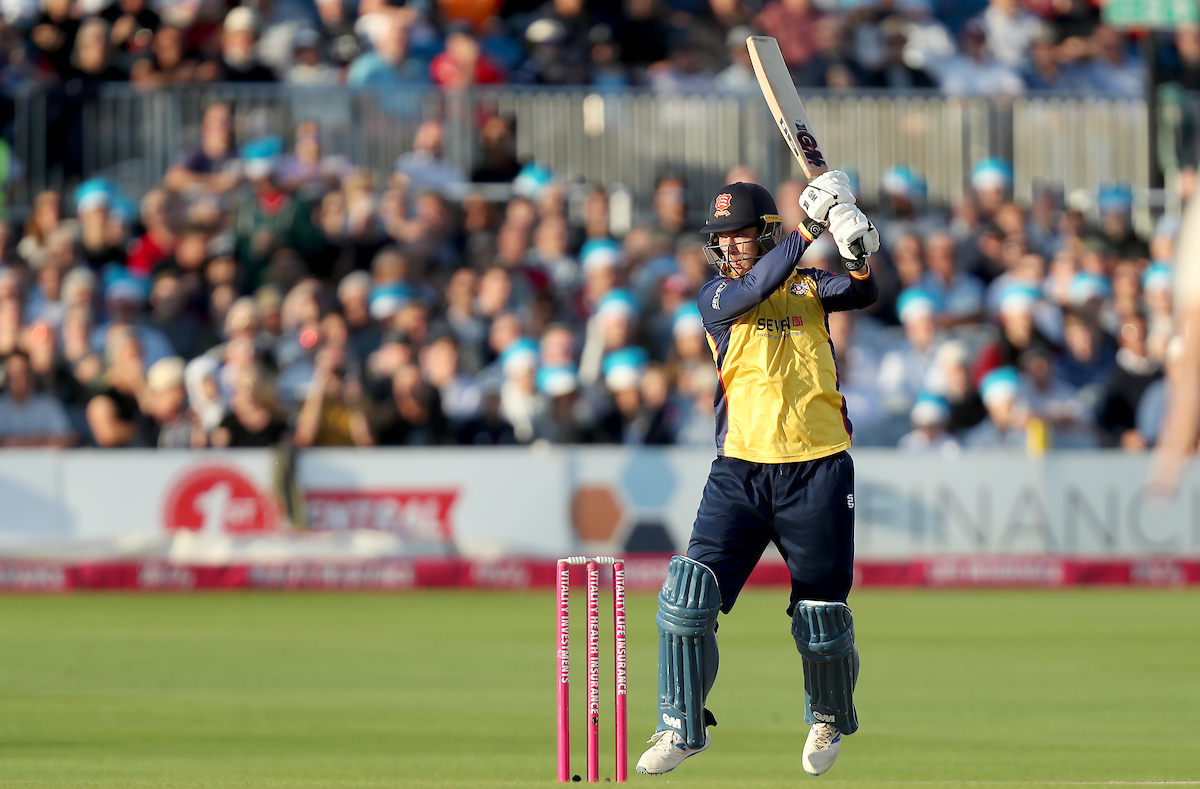 Sussex Sharks vs Essex Eagles, Vitality Blast T20, Cricket, The 1st Central County Ground, Hove, East Sussex, United Kingdom – 22 Aug 2019