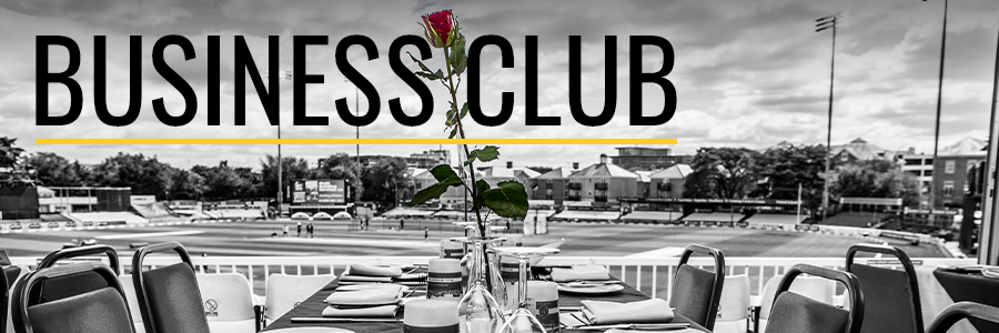 Business Club homepage black and white version